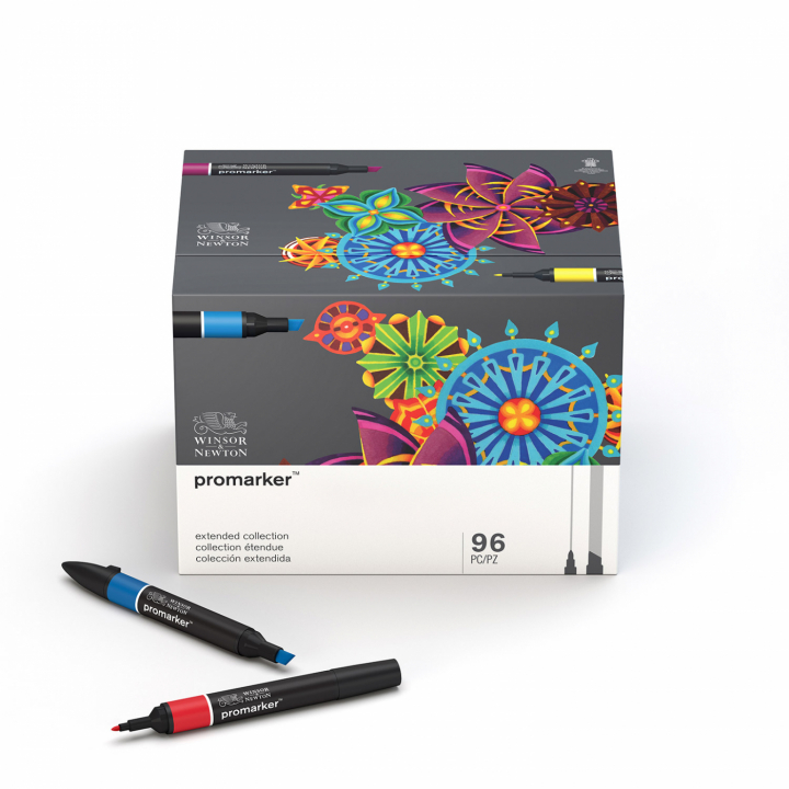 Promarker Essential Collection 96-set in the group Pens / Artist Pens / Illustration Markers at Pen Store (100005)