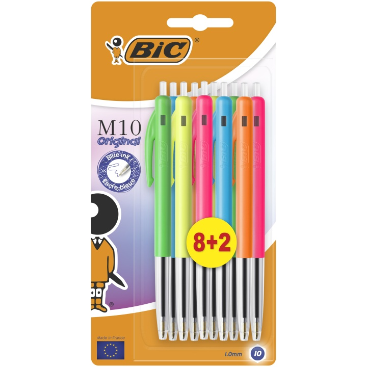 M10 Original Ballpoint Pen 10-set in the group Pens / Office / Office Pens at Pen Store (100235)