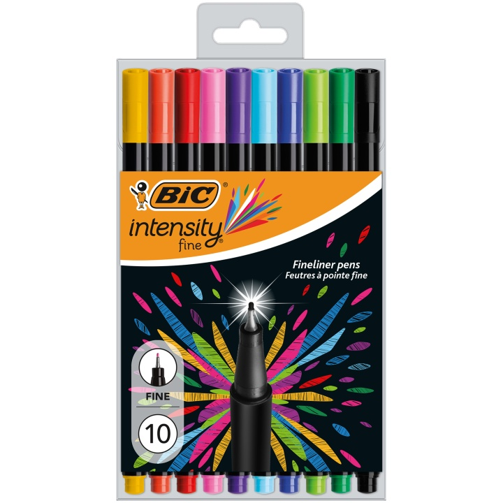 Intensity Fineliner 10-set in the group Pens / Writing / Fineliners at Pen Store (100239)