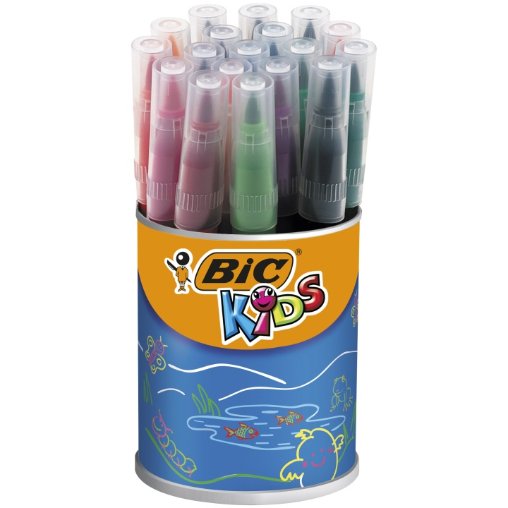 Kids Visaquarelle Brush 18-set in the group Kids / Kids' Pens / 5 Years+ at Pen Store (100256)