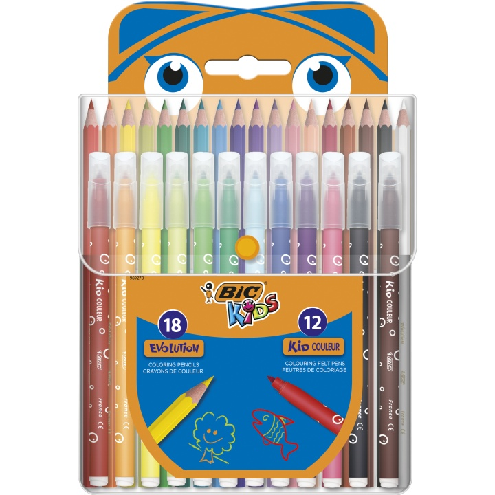 Kids Coloring kit 2 - 30 pieces in the group Kids / Kids' Pens / Crayons for Kids at Pen Store (100261)