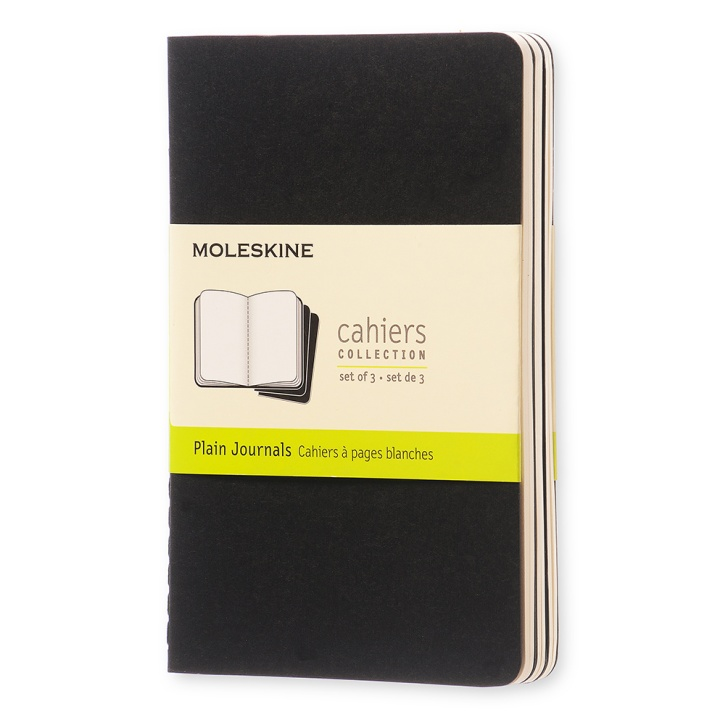 Cahier Pocket Black in the group Paper & Pads / Note & Memo / Writing & Memo Pads at Pen Store (100316_r)