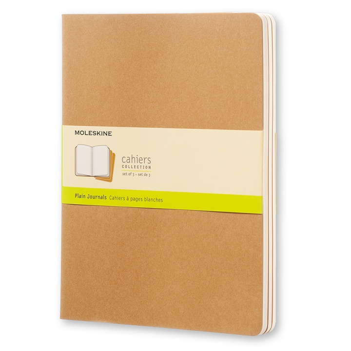 Cahier XL Kraft in the group Paper & Pads / Note & Memo / Writing & Memo Pads at Pen Store (100327_r)