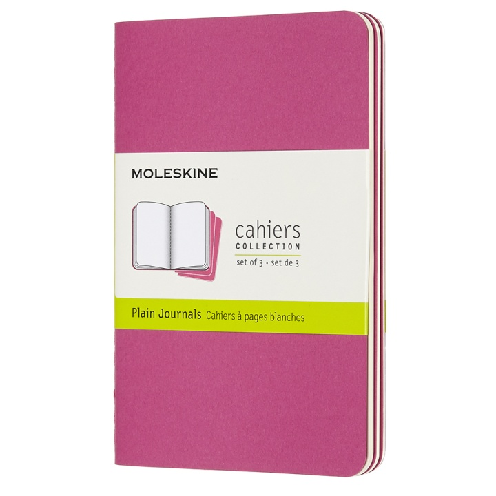 Cahier Pocket Pink Plain in the group Paper & Pads / Note & Memo / Writing & Memo Pads at Pen Store (100332)