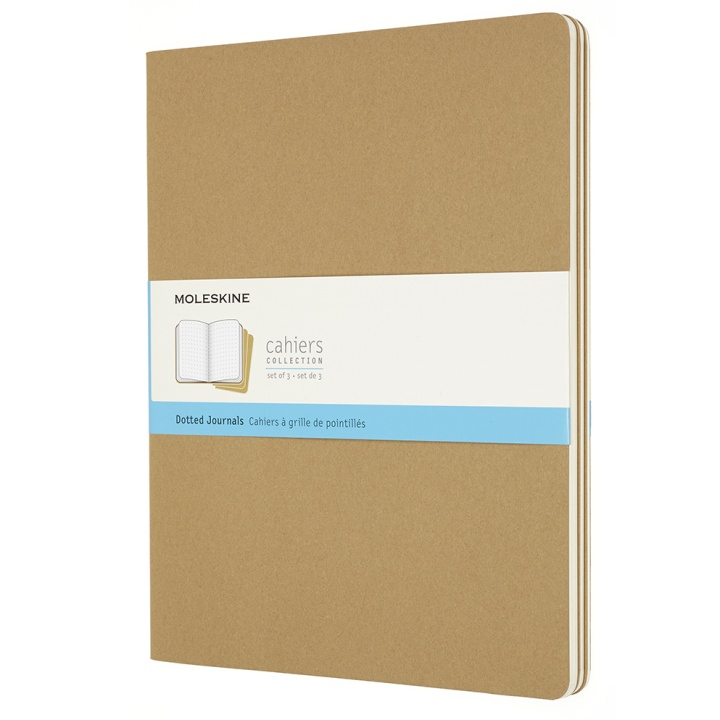 Cahier XXL Kraft Dotted in the group Paper & Pads / Note & Memo / Writing & Memo Pads at Pen Store (100336)