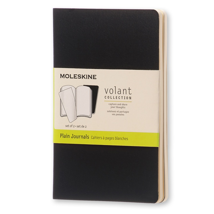 Volant Pocket Black in the group Paper & Pads / Note & Memo / Writing & Memo Pads at Pen Store (100340_r)