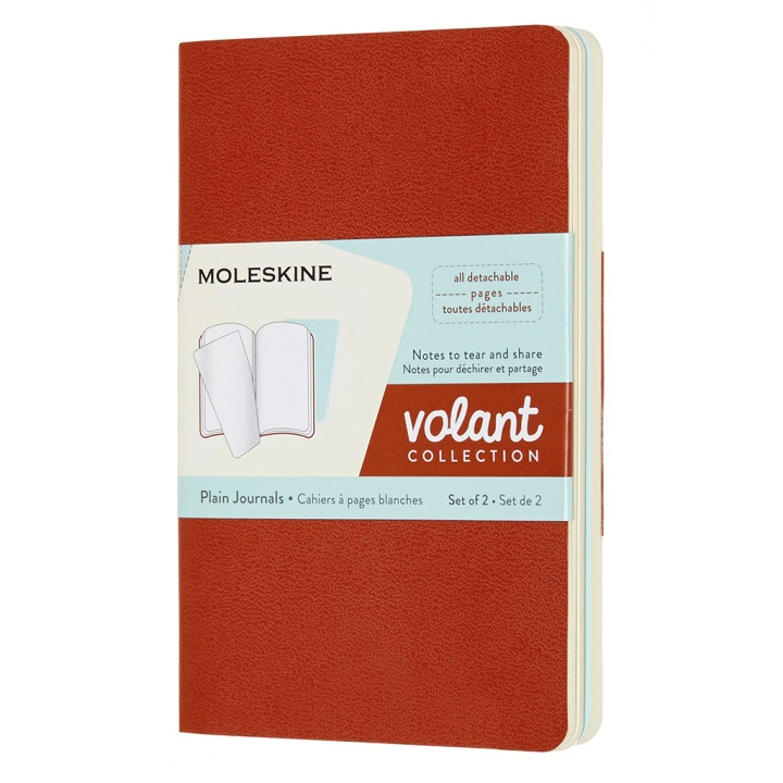 Volant Pocket Orange/Blue Plain in the group Paper & Pads / Note & Memo / Writing & Memo Pads at Pen Store (100342)