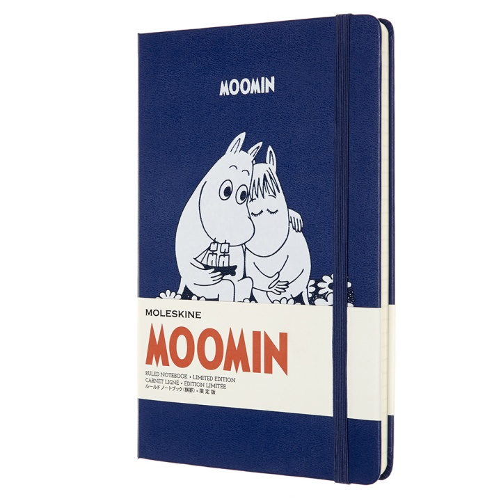 Hardcover Large Moomin Blue Ruled in the group Paper & Pads / Note & Memo / Notebooks & Journals at Pen Store (100373)