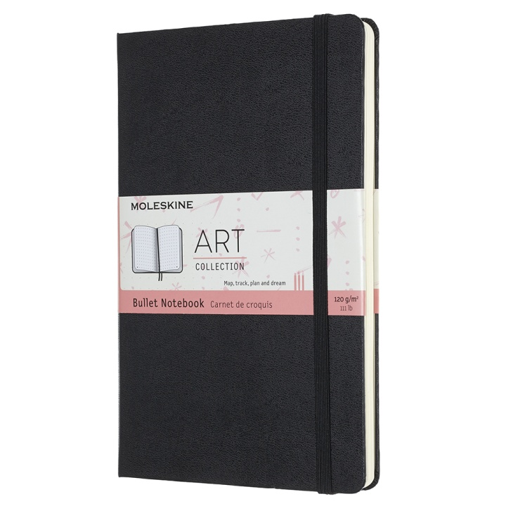 Art Bullet Notebook Large Black in the group Paper & Pads / Note & Memo / Notebooks & Journals at Pen Store (100375)