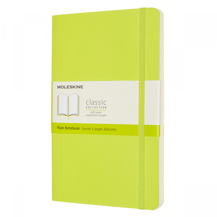 Classic Hardcover Large Lemon Green in the group Paper & Pads / Note & Memo / Notebooks & Journals at Pen Store (100414_r)