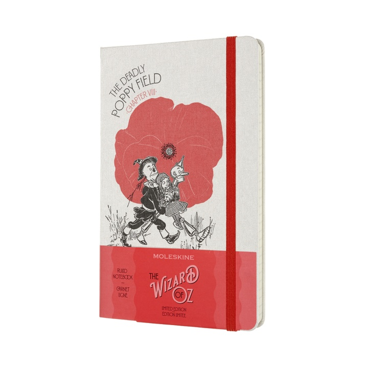 Hardcover Large Wizard of Oz - Poppy Field in the group Paper & Pads / Note & Memo / Notebooks & Journals at Pen Store (100453)
