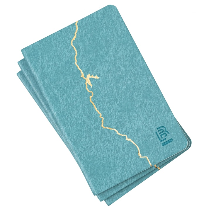 Vol 840 Clutch Notebook 3-set in the group Paper & Pads / Note & Memo / Notebooks & Journals at Pen Store (100509)