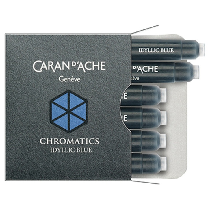 Chromatics Ink cartridge 6-pack in the group Pens / Pen Accessories / Fountain Pen Ink at Pen Store (100522_r)