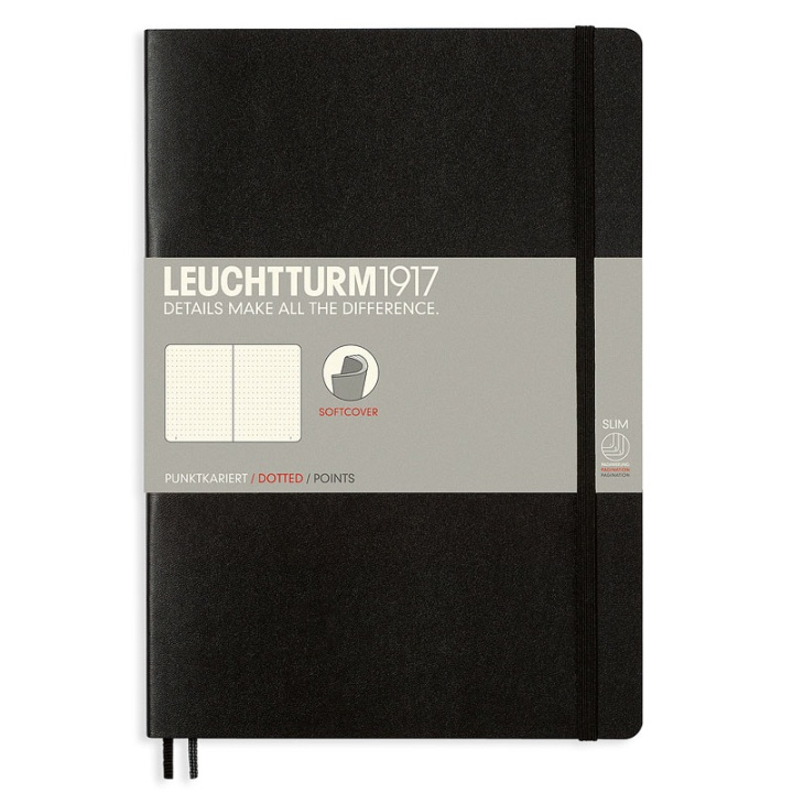Notebook B5 Softcover Dotted  in the group Paper & Pads / Note & Memo / Notebooks & Journals at Pen Store (100689_r)