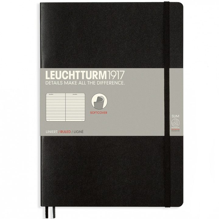 Notebook B5 Softcover Ruled in the group Paper & Pads / Note & Memo / Notebooks & Journals at Pen Store (100693_r)