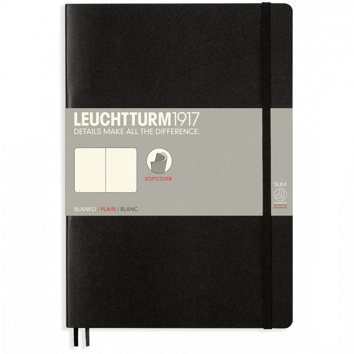 Notebook B5 Softcover Plain in the group Paper & Pads / Note & Memo / Notebooks & Journals at Pen Store (100696_r)