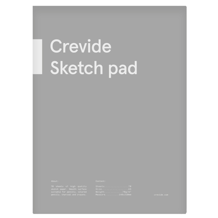 Sketch pad A5 70g in the group Paper & Pads / Artist Pads & Paper / Drawing & Sketch Pads at Pen Store (100847)