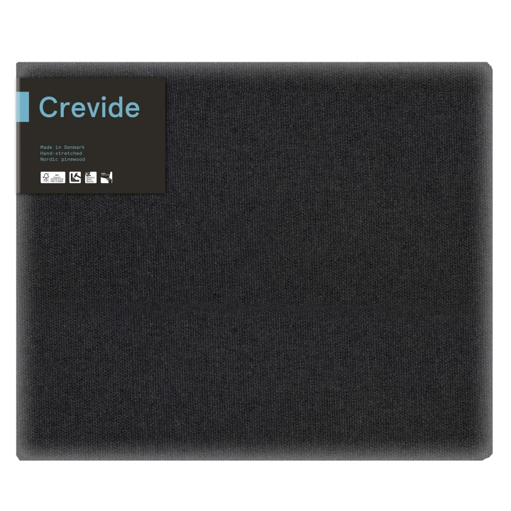 Canvas Black Cotton/Polyester 55x46 (F10) in the group Art Supplies / Studio / Artist Canvas at Pen Store (100879)