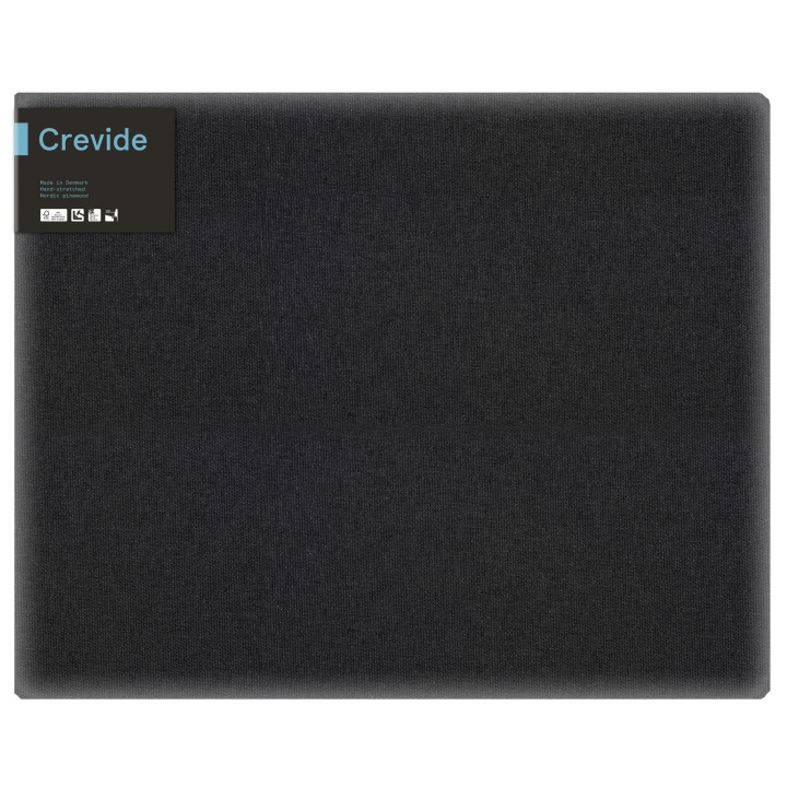 Canvas Black Cotton/Polyester 81x65 (F25) in the group Art Supplies / Studio / Artist Canvas at Pen Store (100882)