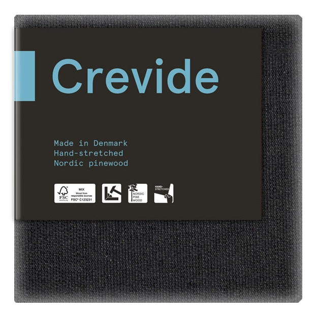 Canvas Black Cotton/Polyester 20x20 in the group Art Supplies / Studio / Artist Canvas at Pen Store (100884)