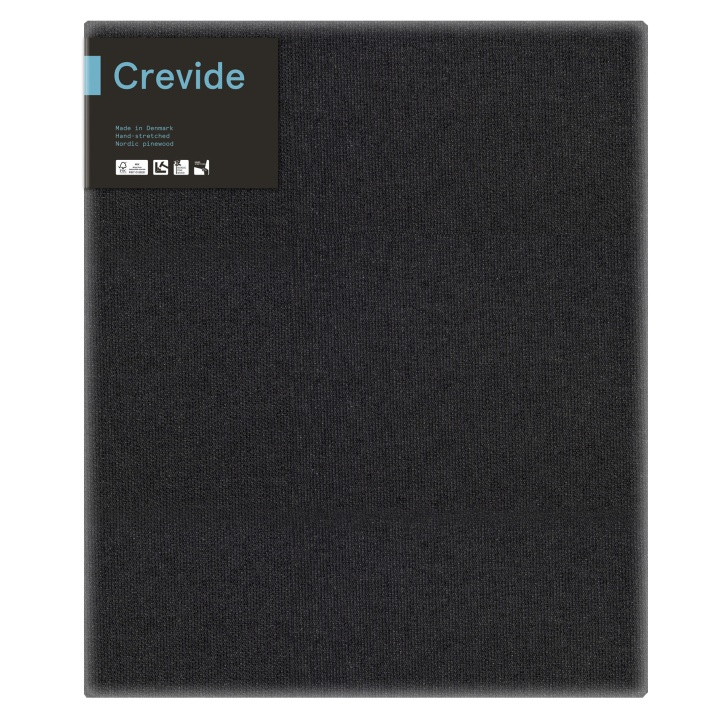 Canvas Black Cotton/Polyester 50x60 in the group Art Supplies / Studio / Artist Canvas at Pen Store (100888)