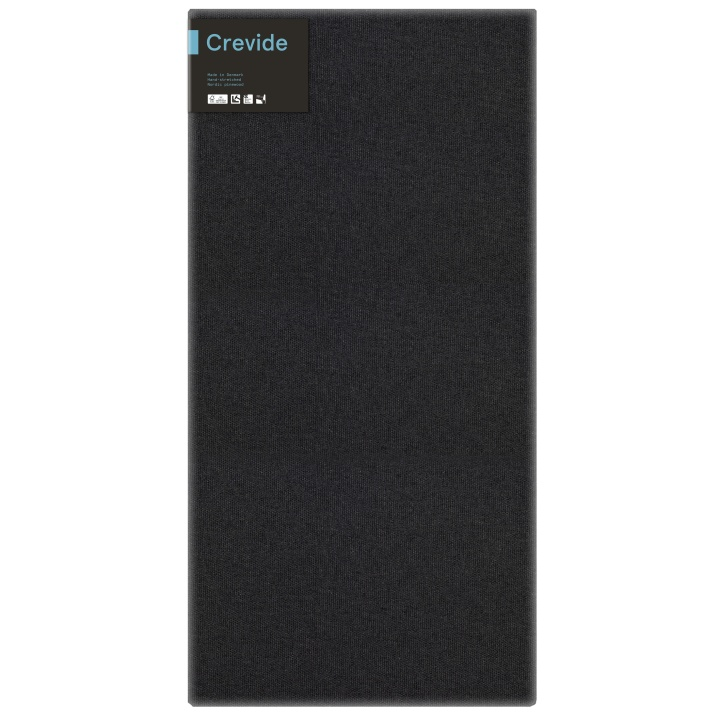 Canvas Black Cotton/Polyester 50x100 in the group Art Supplies / Studio / Artist Canvas at Pen Store (100892)