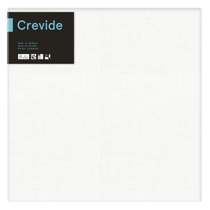 White Linen Canvas 50x50 in the group Art Supplies / Studio / Artist Canvas at Pen Store (100908)