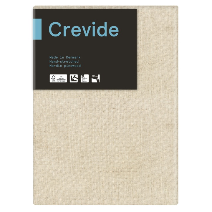 Natural Linen Canvas 24x33 (F4) in the group Art Supplies / Studio / Artist Canvas at Pen Store (100919)