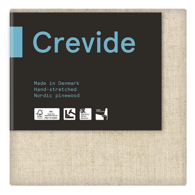 Natural Linen Canvas 20x20 in the group Art Supplies / Studio / Artist Canvas at Pen Store (100926)