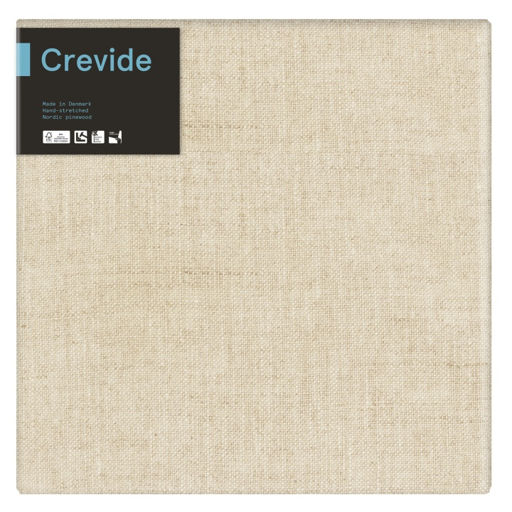 Natural Linen Canvas 50x50 in the group Art Supplies / Studio / Artist Canvas at Pen Store (100929)
