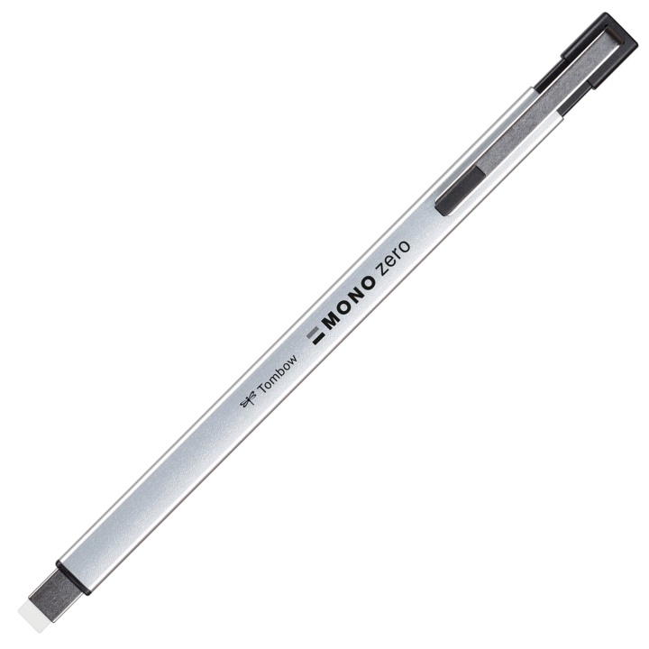 Mono Zero Metal Eraser Rectangular Silver in the group Pens / Pen Accessories / Erasers at Pen Store (101142)