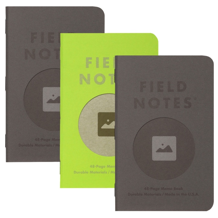 Vignette Memo Book 3-pack in the group Paper & Pads / Note & Memo / Writing & Memo Pads at Pen Store (101444)