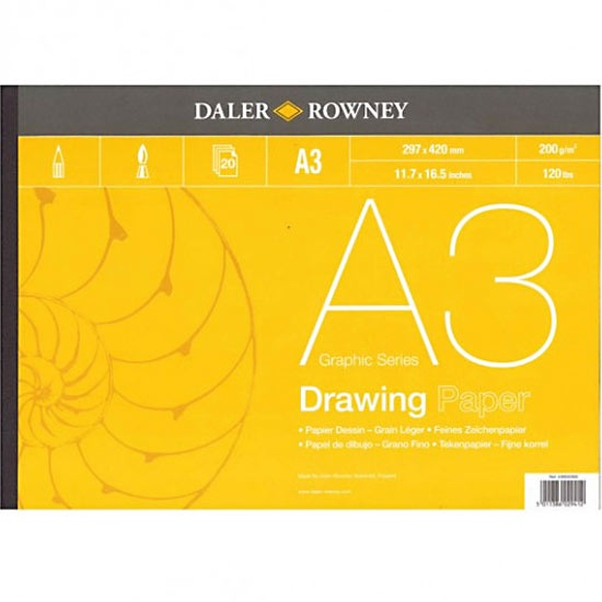 Drawing Paper A3 in the group Paper & Pads / Artist Pads & Paper / Drawing & Sketch Pads at Pen Store (101456)