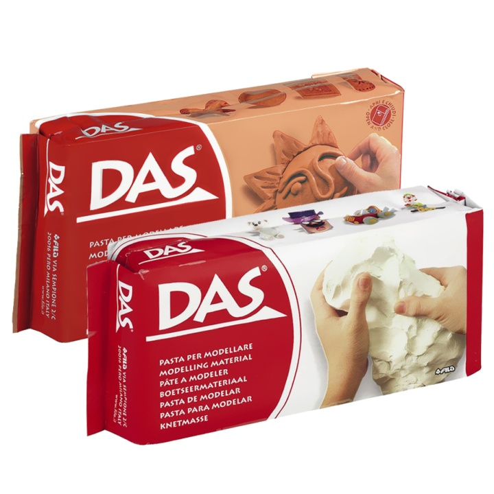 DAS Modelling Clay 1/2 kg in the group Kids / Kids' Paint & Crafts / Modelling Clay for Kids at Pen Store (101536_r)