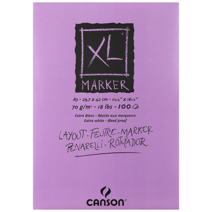 XL Marker Pad A3 in the group Paper & Pads / Artist Pads & Paper / Marker Pads at Pen Store (101605)