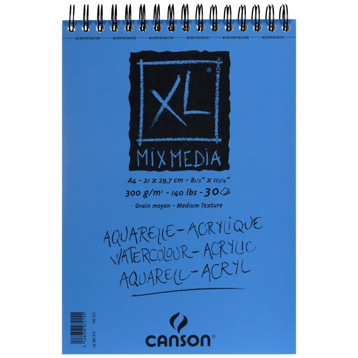 XL Mix-Media 300g A4 in the group Paper & Pads / Artist Pads & Paper / Mixed Media Pads at Pen Store (101608)