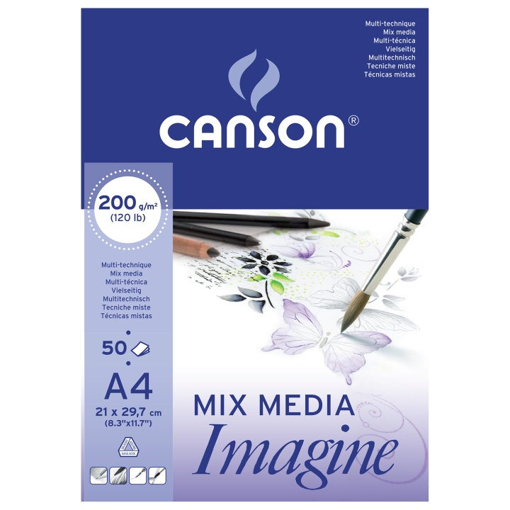 Imagine Mix Media A4 in the group Paper & Pads / Artist Pads & Paper / Mixed Media Pads at Pen Store (101612)