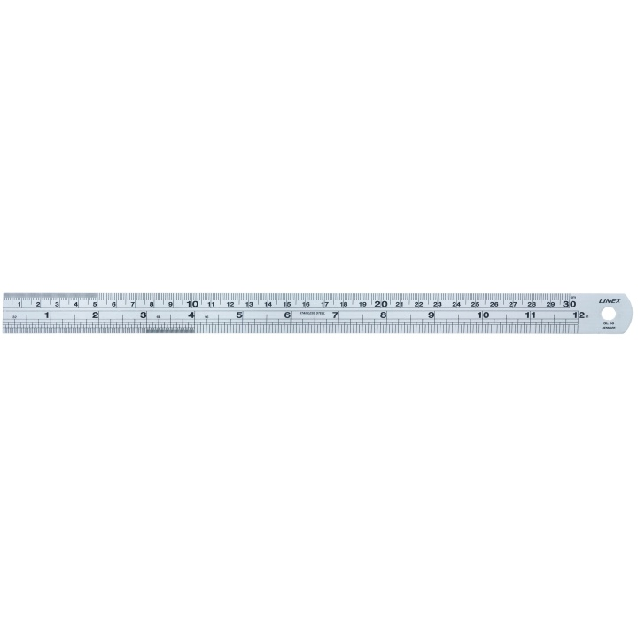 SL Steel Ruler 30 cm in the group Hobby & Creativity / Hobby Accessories / Rulers at Pen Store (101717)
