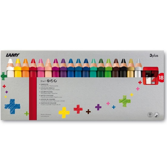 3plus 18-set in the group Kids / Kids' Pens / 3 Years+ at Pen Store (101783)