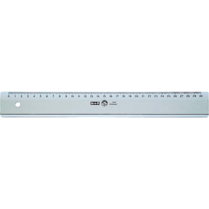 Ruler plastic 50 cm in the group Hobby & Creativity / Hobby Accessories / Rulers at Pen Store (102242)