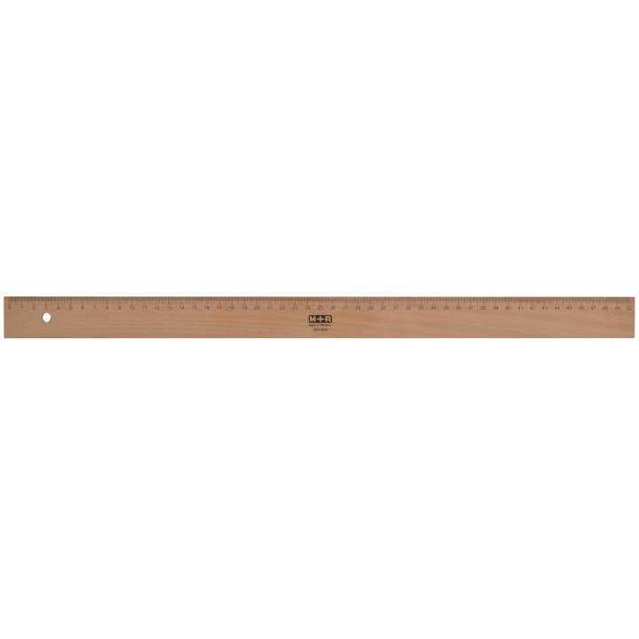 Wooden Ruler 50 cm in the group Hobby & Creativity / Hobby Accessories / Rulers at Pen Store (102292)