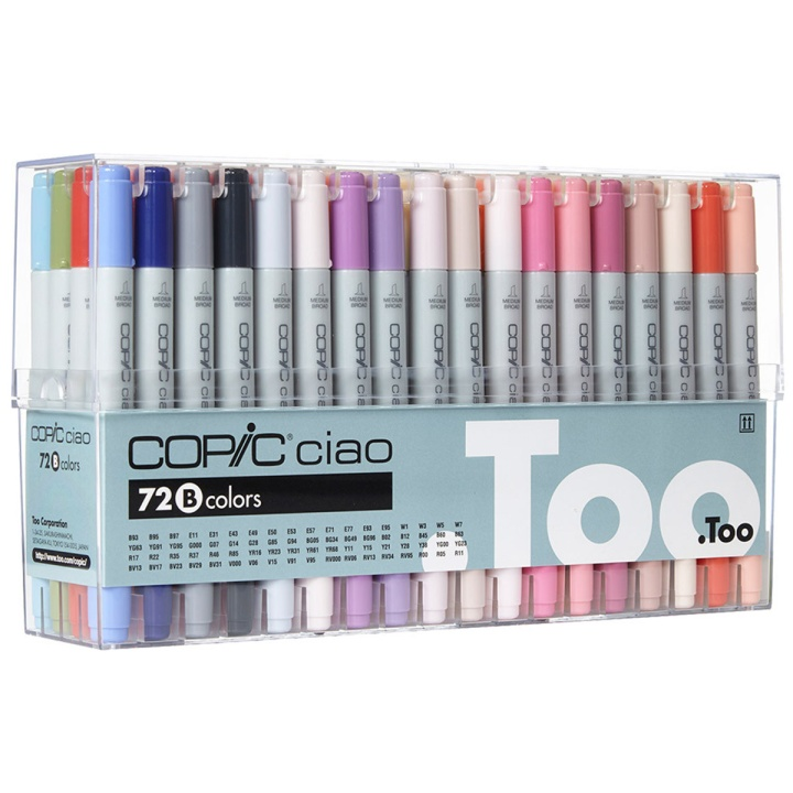 Ciao 72-set B in the group Pens / Artist Pens / Felt Tip Pens at Pen Store (103310)