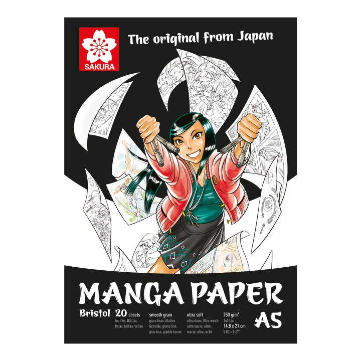 Manga Drawing Pad A5 in the group Paper & Pads / Artist Pads & Paper / Marker Pads at Pen Store (103850)
