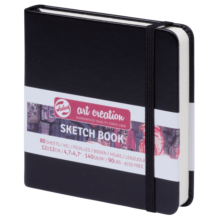 Art Creation Sketchbook 12x12 cm in the group Paper & Pads / Artist Pads & Paper / Sketchbooks at Pen Store (104058)