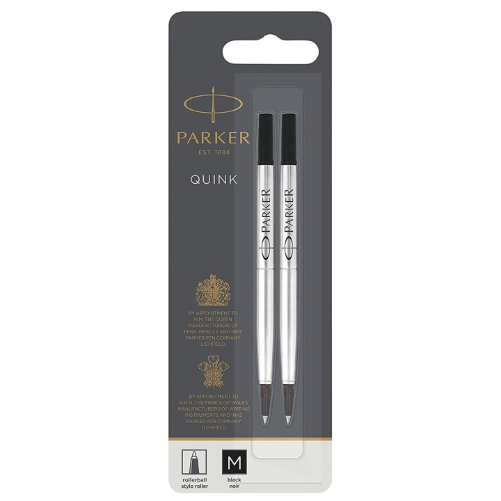 Quink Rollerball refill Medium 2-pack in the group Pens / Pen Accessories / Cartridges & Refills at Pen Store (104692_r)