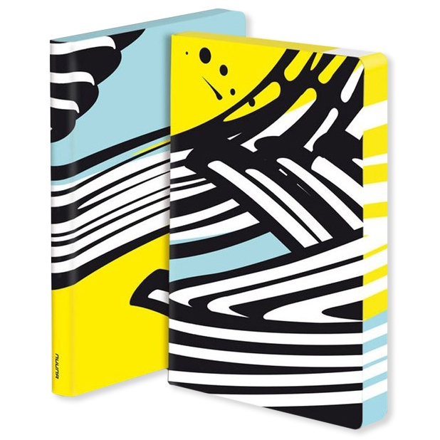 Notebook Graphic L - Nouvelle Vague in the group Paper & Pads / Note & Memo / Notebooks & Journals at Pen Store (104864)