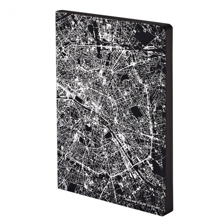 Notebook Graphic Traveller - Nightflight Paris Copper in the group Paper & Pads / Note & Memo / Notebooks & Journals at Pen Store (104889)