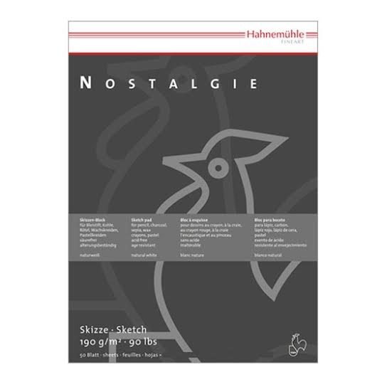 Nostalgie Sketch pad A4 in the group Paper & Pads / Artist Pads & Paper / Drawing & Sketch Pads at Pen Store (105163)