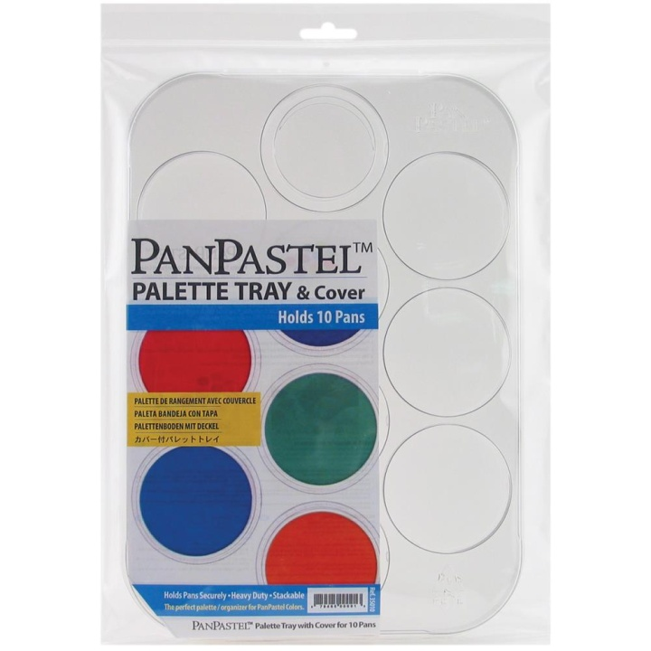 Palette tray for 10 colors in the group Art Supplies / Art Accessories / Storage at Pen Store (106065)