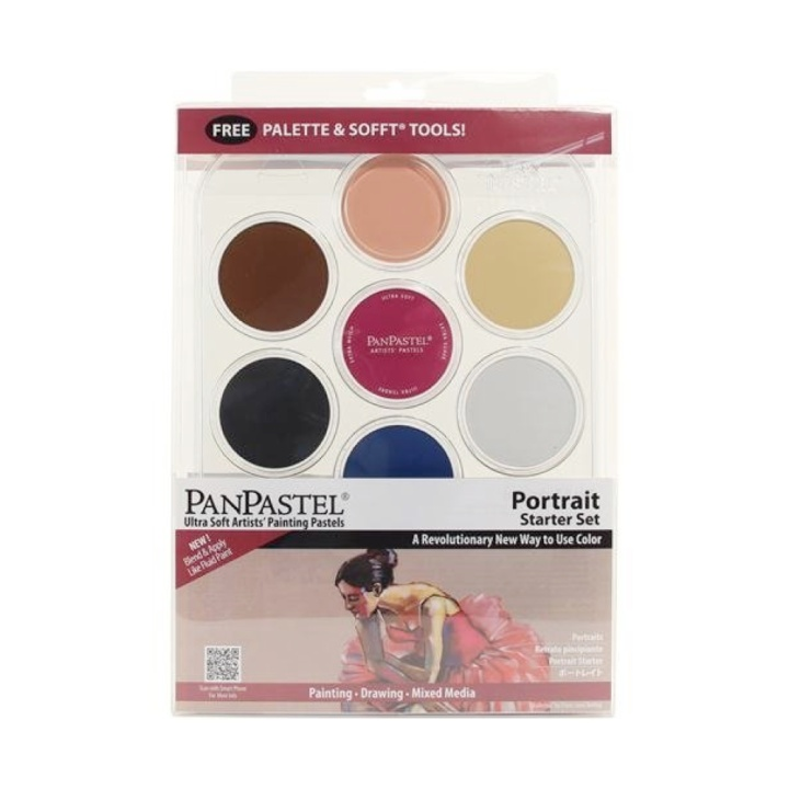 Portrait Set in the group Art Supplies / Colors / Pastels at Pen Store (106072)